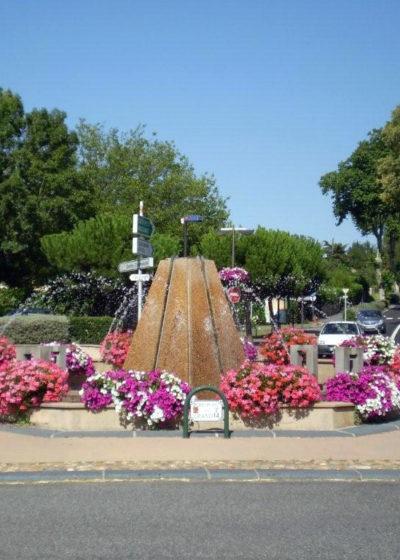 Fontaine en centre ville