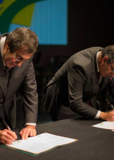 Signature du pacte de jumelage